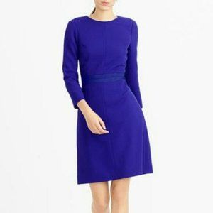 J.Crew Double Faced Wool Crepe Dress